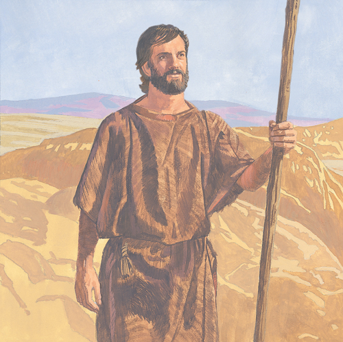 John the Baptist in desert