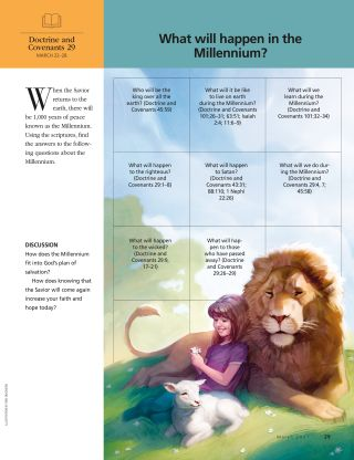 Liahona Magazine, 2021/03 March: What will happen in the Millennium?