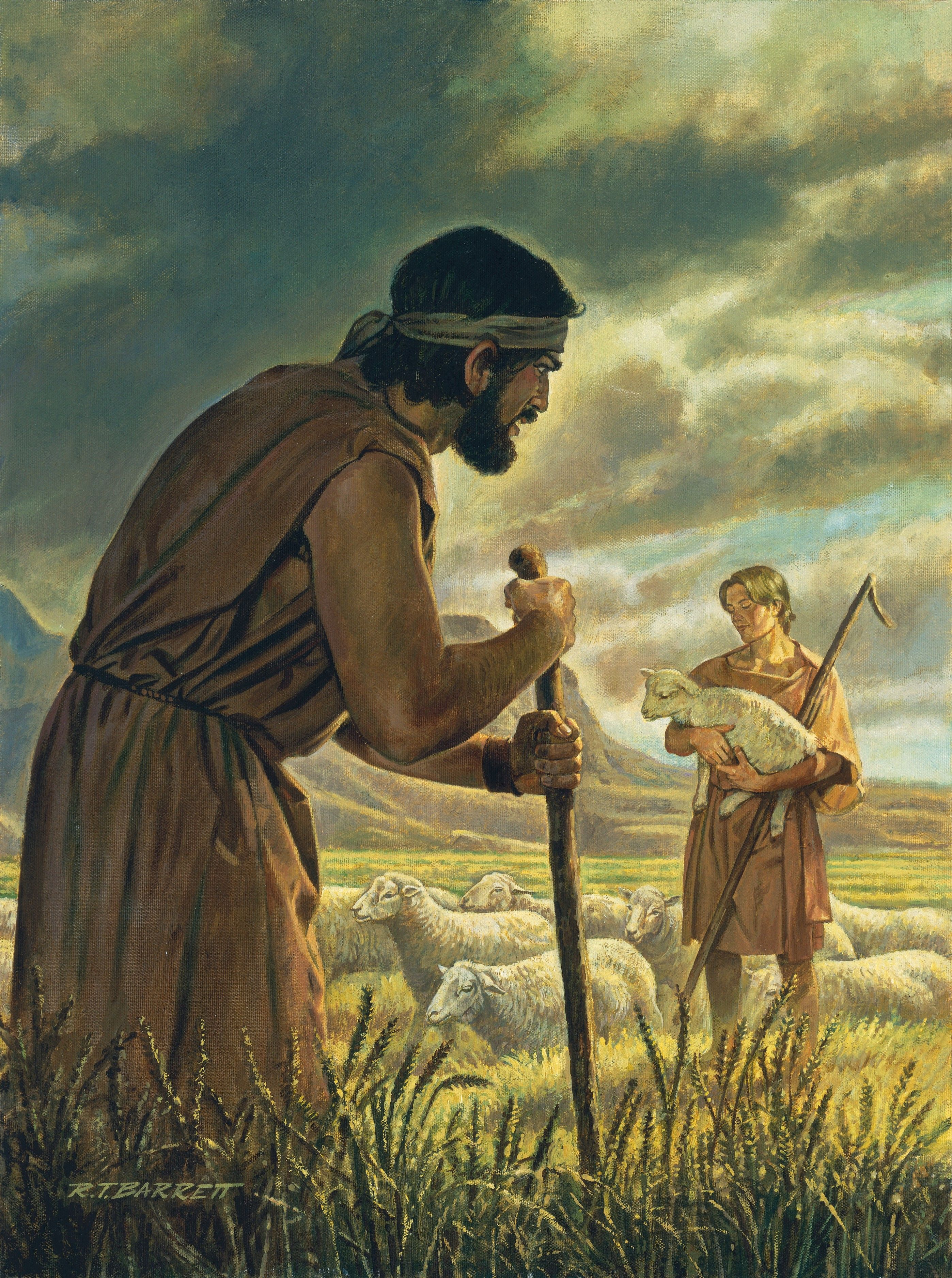 Cain and Abel, by Robert T. Barrett