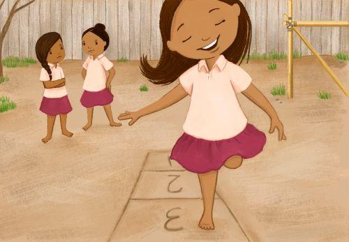 Hopscotch with Friends Cartoon