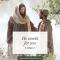 Jesus talking with man