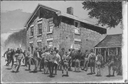 [Mob at Carthage Jail]
