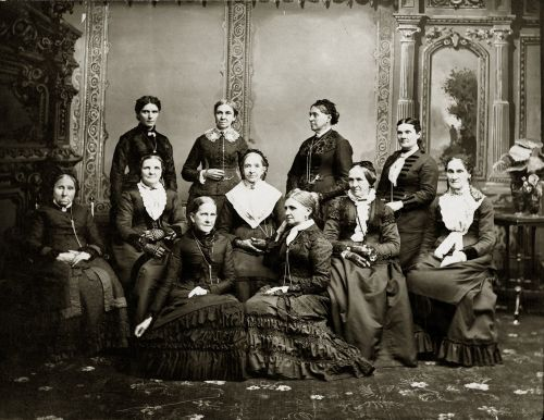 Deseret Hospital Board of Directors ca. 1882