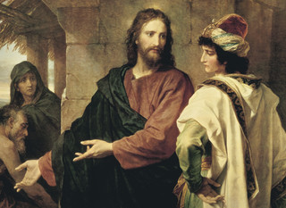Christ and the Rich Young Ruler, by Heinrich Hofmann