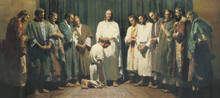 Christ Ordaining the Twelve Apostles, by Harry Anderson