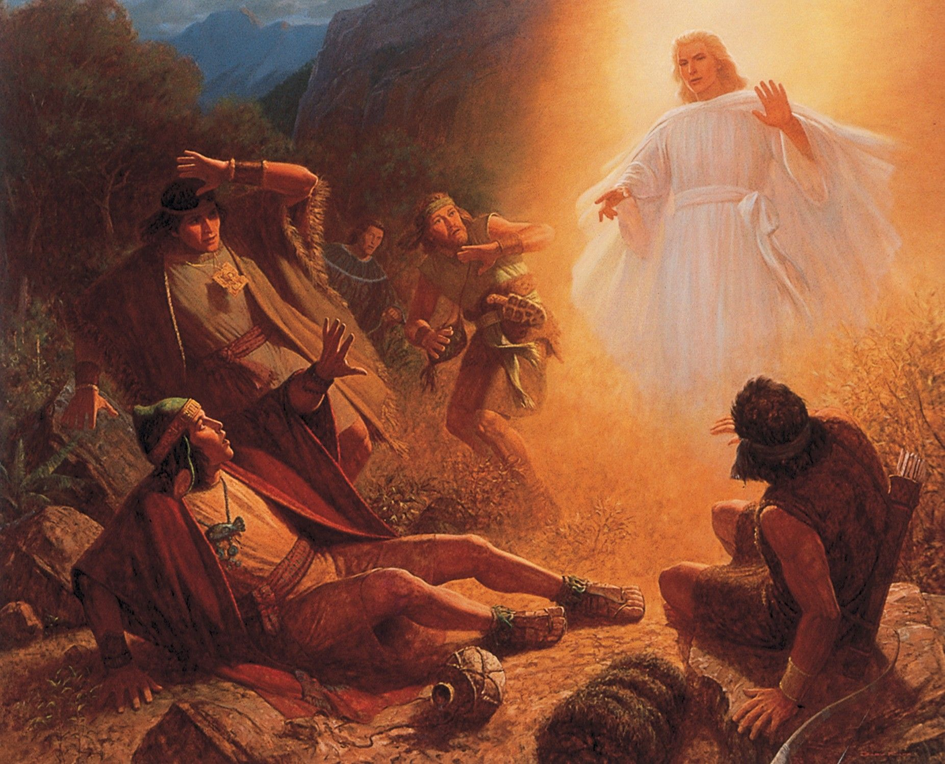 Conversion of Alma the Younger (The Conversion of Alma), by Gary L. Kapp; GAK 321; GAB 77; Mosiah 27:8–37; Alma 36:3–24