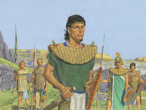 Mormon as military leader