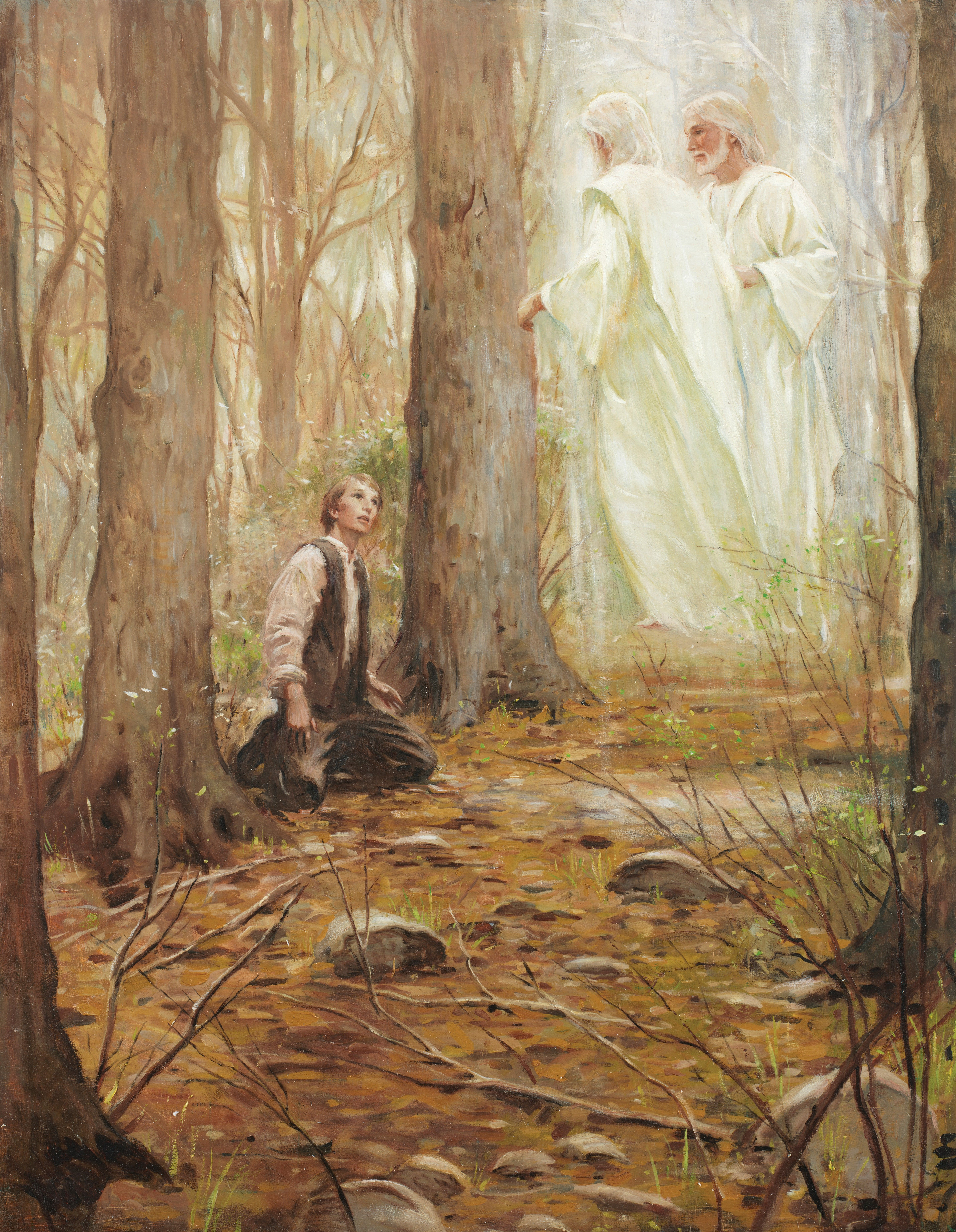 First Vision, by Walter Rane.
