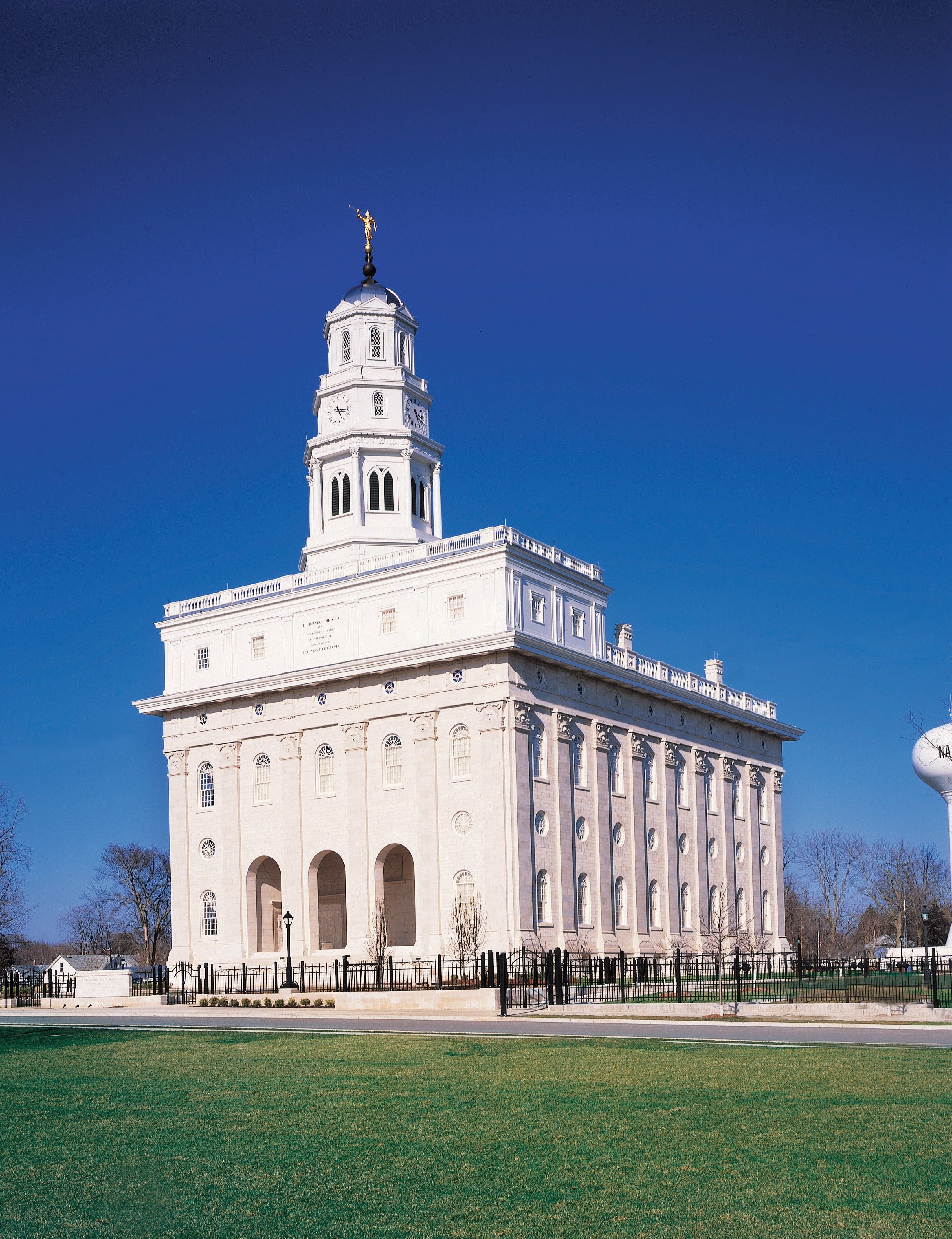 Nauvoo Illinois Temple (Reconstruction of Original Nauvoo Temple; Dedicated in 2002) (62432); GAK 501; GAB 118; Our Heritage, 58–61; Doctrine and Covenants 124:26–44