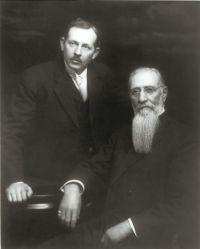 Joseph F. Smith and Joseph Fielding Smith 1914 May 2]