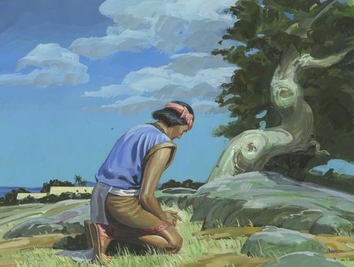 Samuel praying