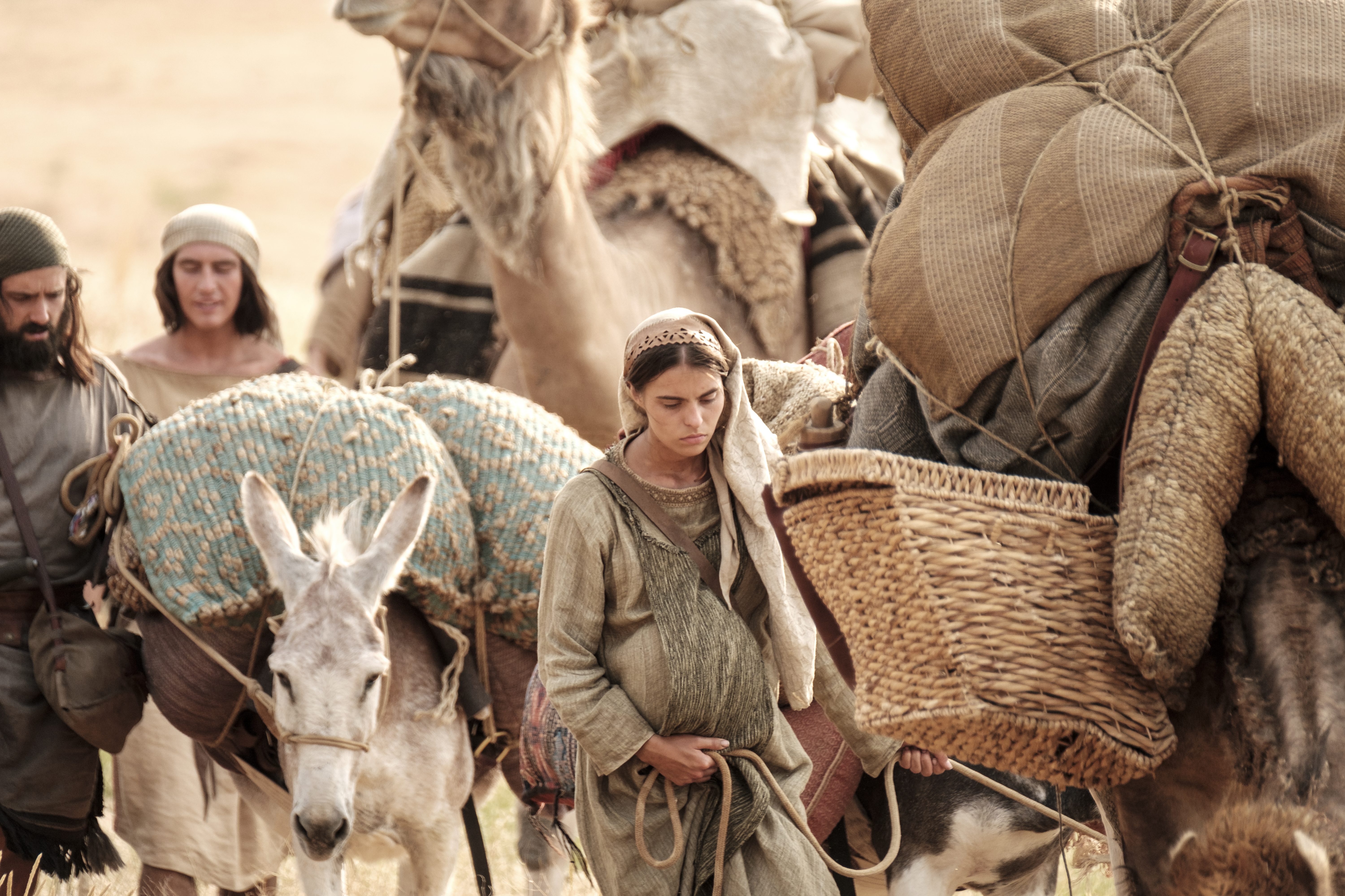 A daughter of Ishmael travels with her family and Lehi's sons in the wilderness.