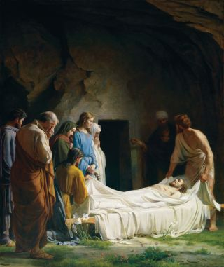 Burial of Jesus (The Burial of Christ)