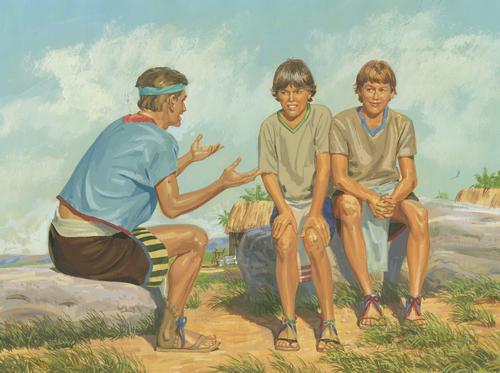 Helaman teaching sons