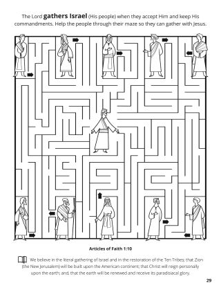 Tenth Article of Faith coloring page