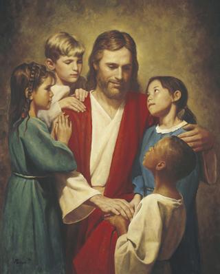 Christ and Children from around the World (Christ with Children)