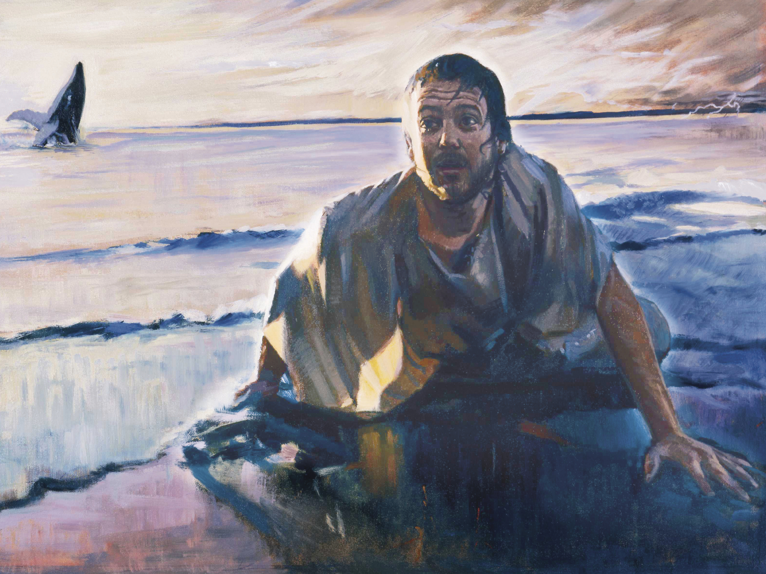 Jonah on the Beach at Nineveh, by Daniel A. Lewis