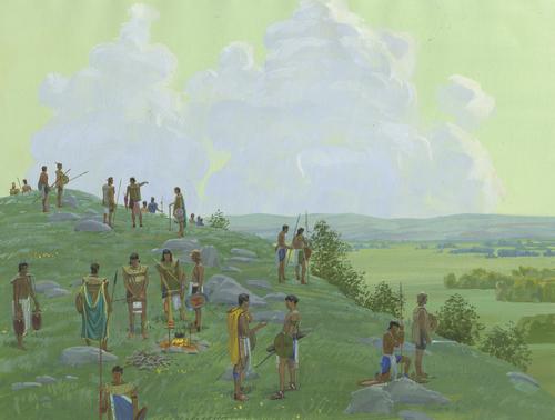 Mormon's army