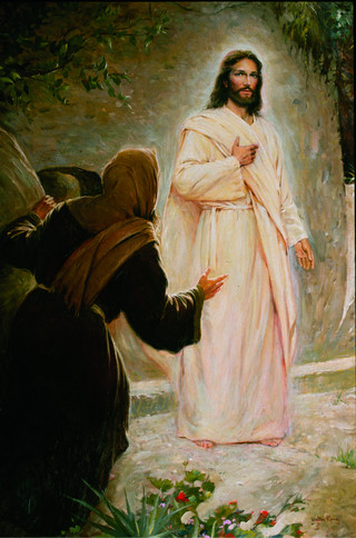The Resurrected Christ, by Walter Rane