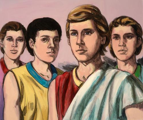 Daniel, Shadrach, Meshach, and Abednego