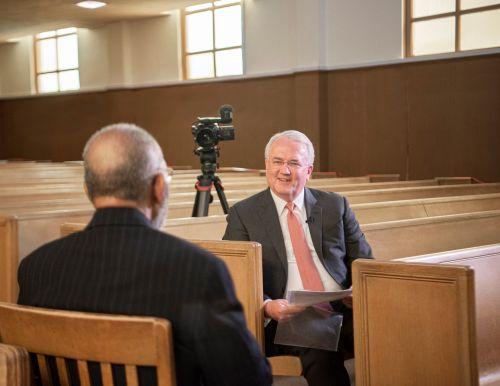 Elder Jack N. Gerard and Reverend Amos Brown