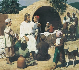 Christ and the Children (Christ with the Children)