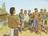 Mormon talking with men