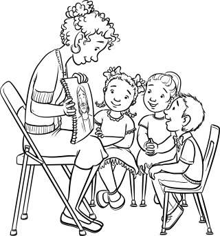 Coloring Page: I Can Be Reverent