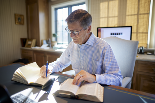 Steven J. Lund: Writing in a Journal