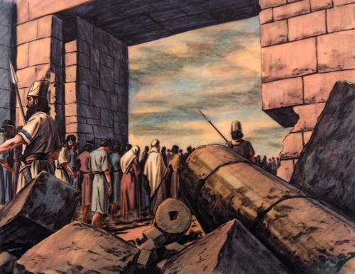 Jews taken captive