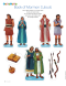 cut-out figures of Nephi and his family