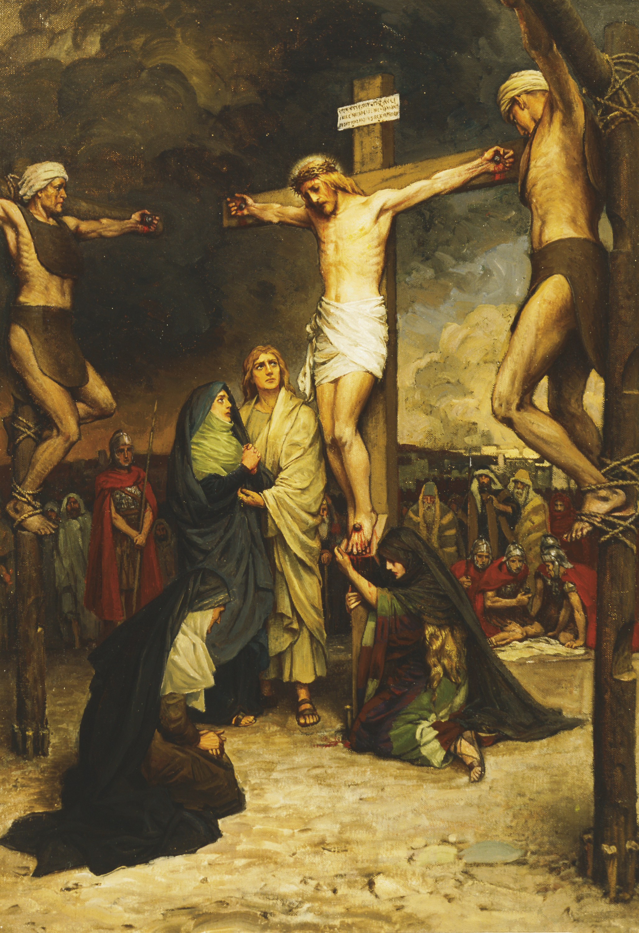 The Crucifixion of Christ, artist unknown