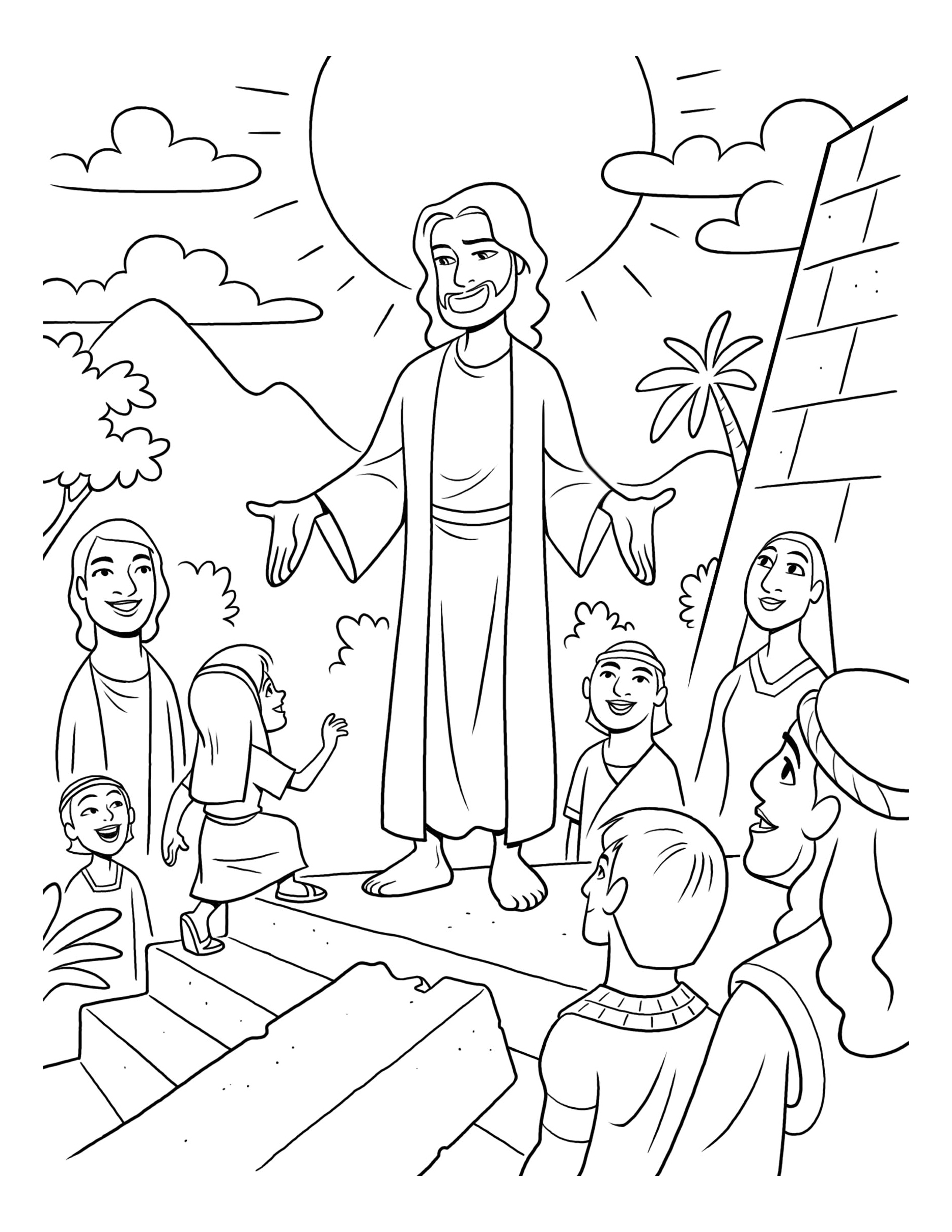 Christ Visiting The Americas