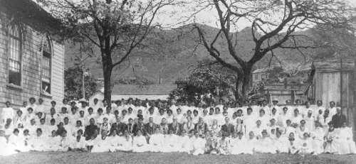 President Smith in Hawaii