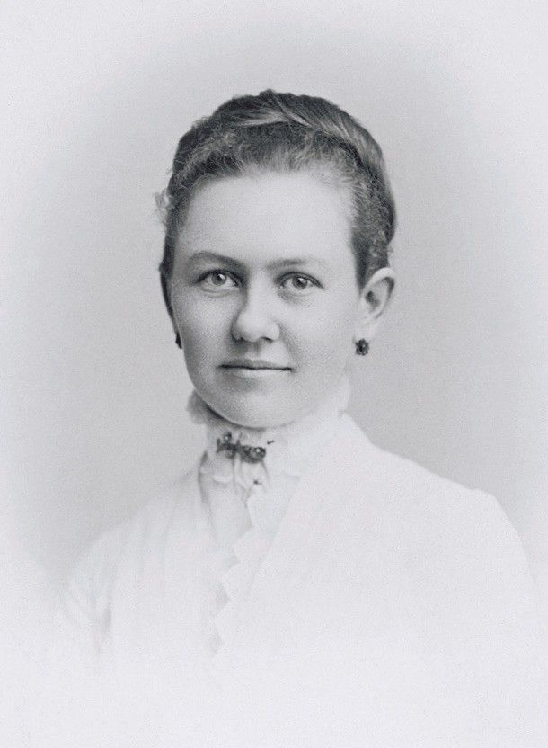 George Albert Smith's wife, Lucy Smith, at age 19. Teachings of Presidents of the Church: George Albert Smith (2011), xvi