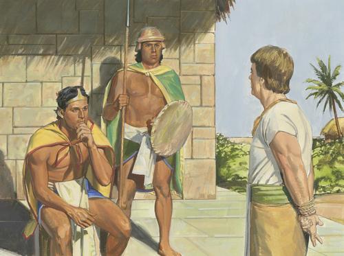 Lamoni and Ammon