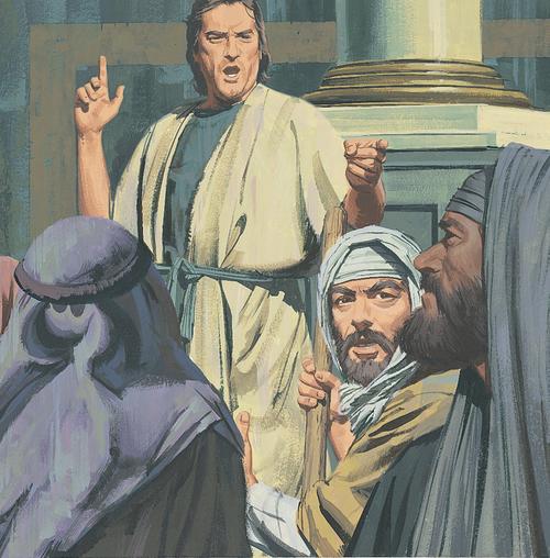 Stephen teaching people