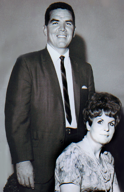 Young Michael and Marian Holmes
