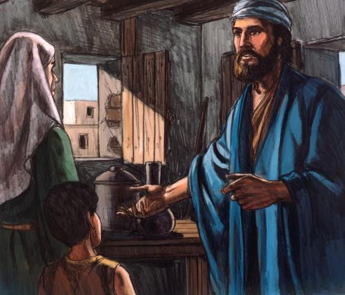 Elijah and widow