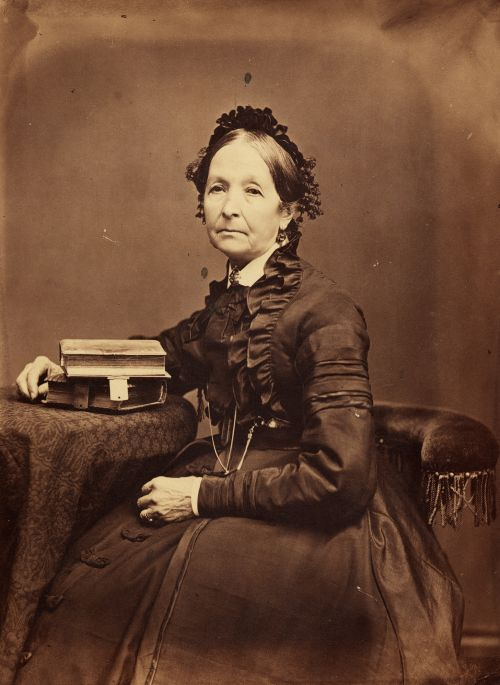 Portrait of Eliza Roxcy Snow circa 1875 by Charles Carter.