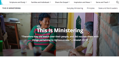 This Is Ministering Homepage