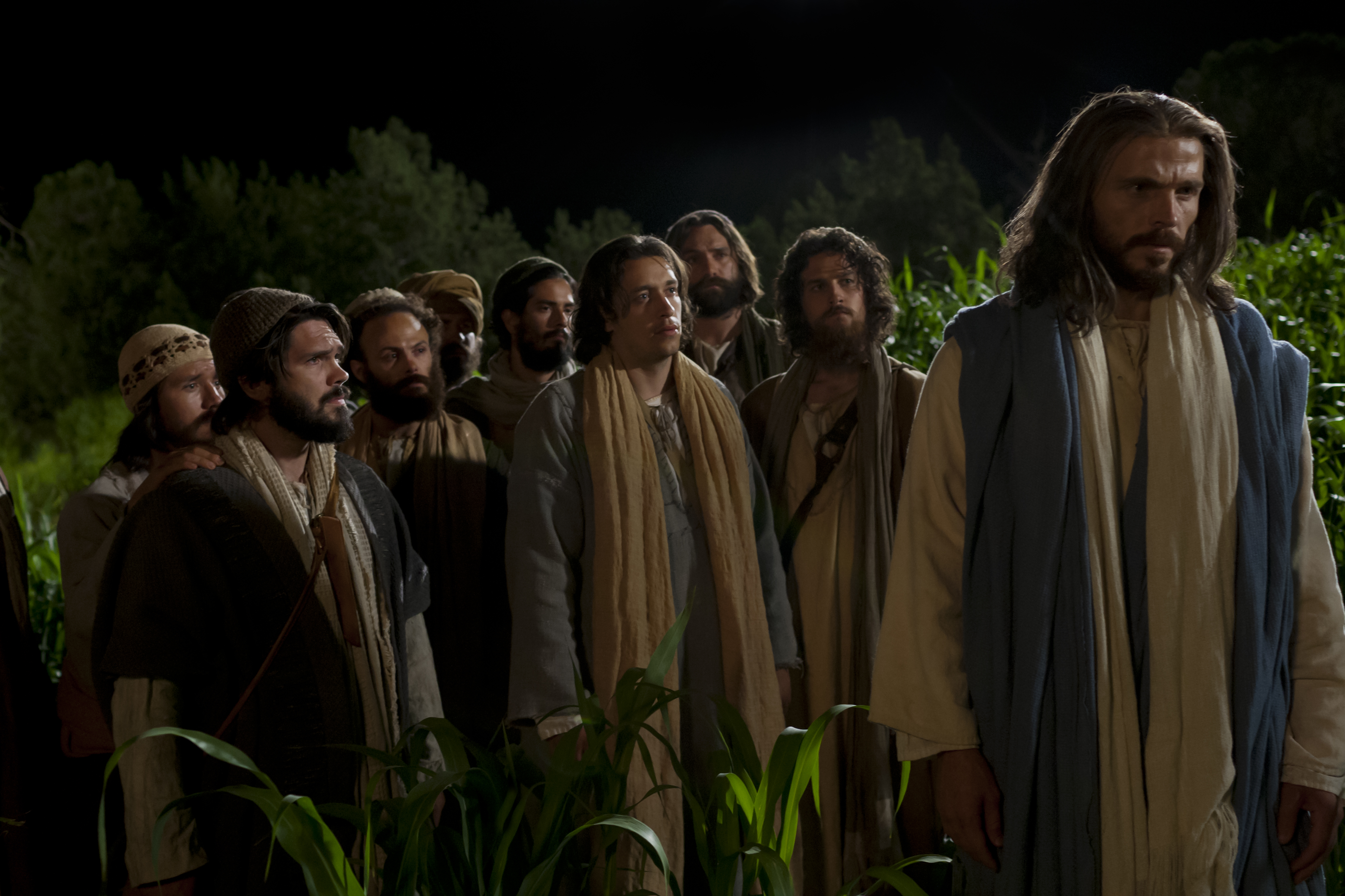 Jesus warns Peter of his forthcoming denial before offering the Intercessory Prayer.