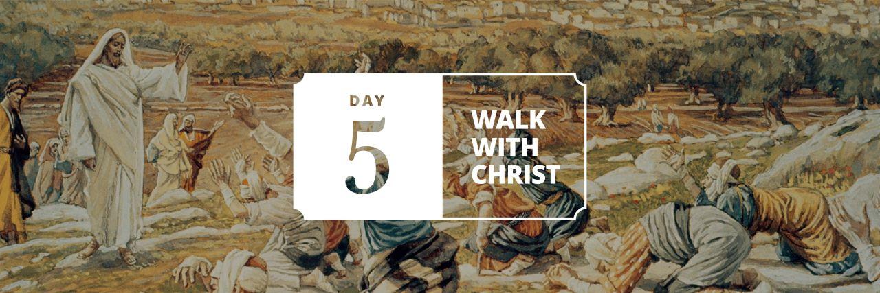 Jesus Christ heals the ten lepers