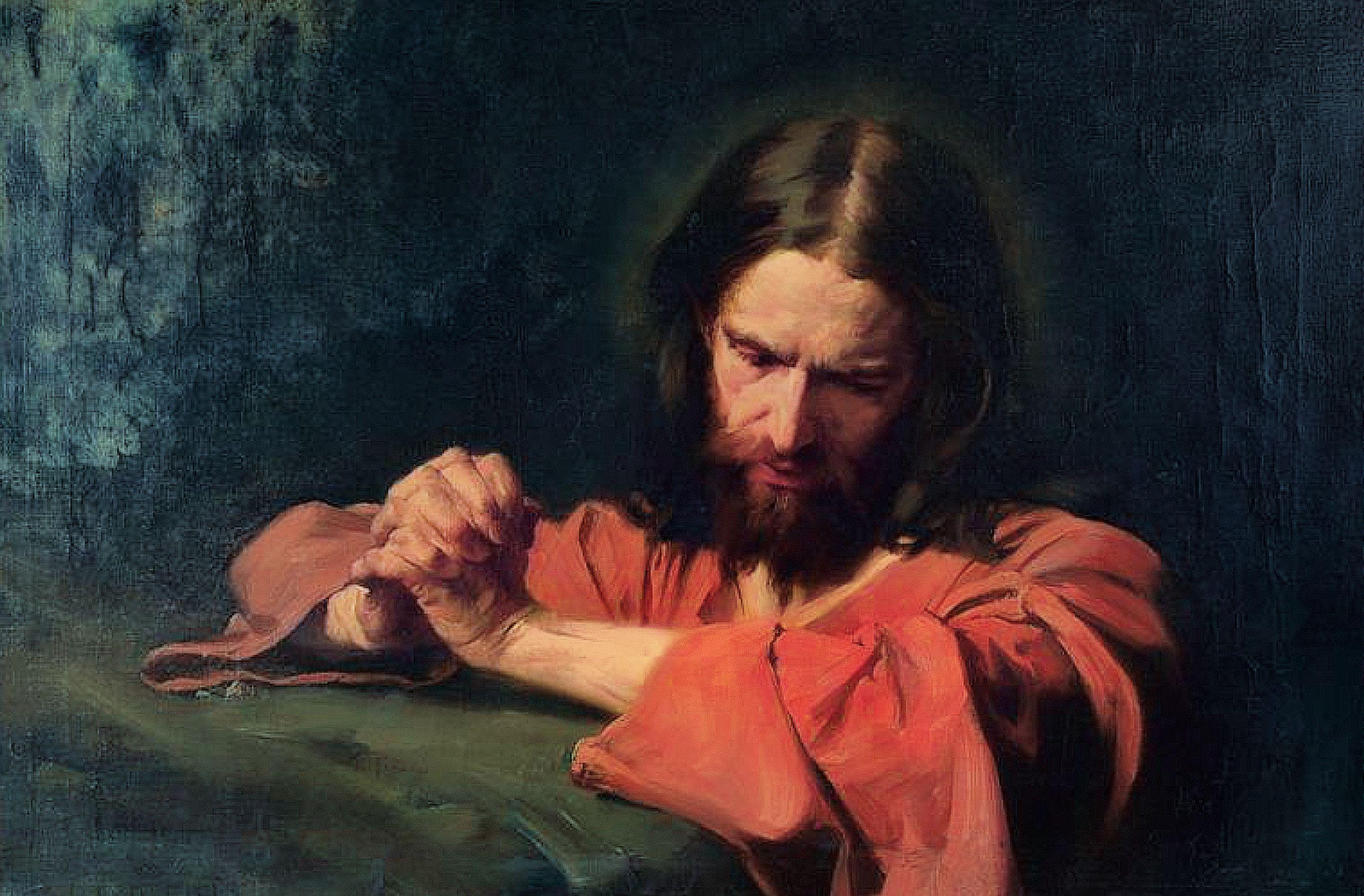 Christ Praying in the Garden of Gethsemane, by Hermann Clementz.