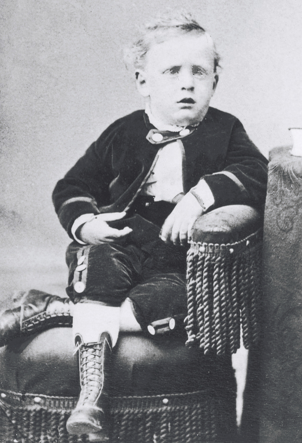 George Albert Smith when he was around four years old. Teachings of Presidents of the Church: George Albert Smith (2011), xi