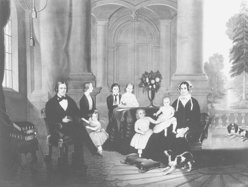 Brigham Young's family.