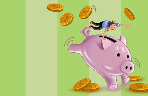 Piggy Bank Misfortune