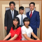 Young Man from Japan with His Family
