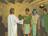 Jesus with three disciples