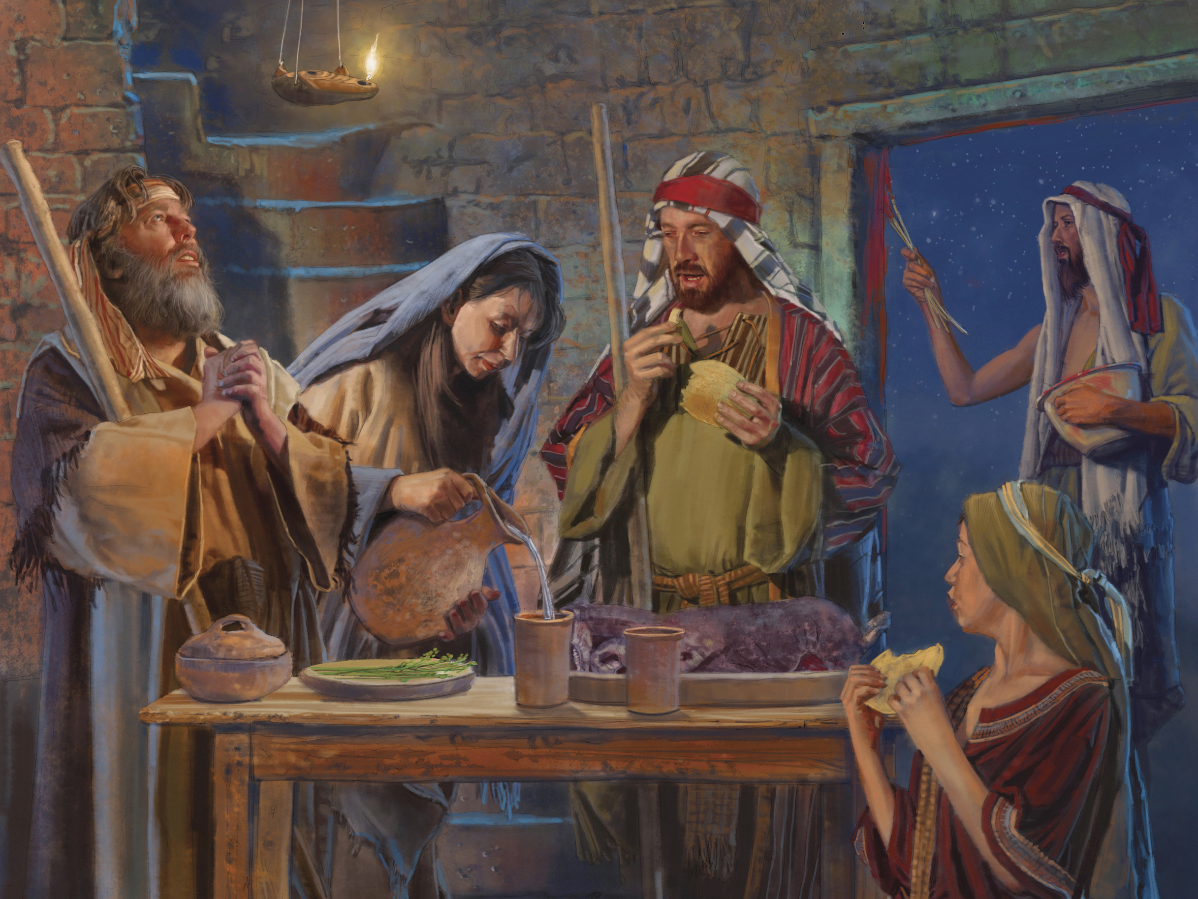The Passover Supper, by Brian Call